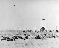 الضربة الجوية المصرية على القوات الإسرائيلية قرب العريش
