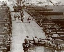 إنشاء أول كوبري (خفيف) للفرقة 19 المشاة في حرب اكتوبر