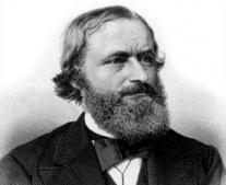 وفاه عالم الفيزياء الألماني كيرشوفو Gustav Kirchhoff