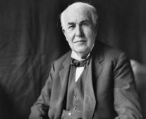 وفاه المخترع الأمريكي توماس إديسون Thomas Edison