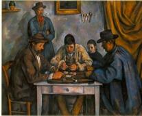 وفاه الرسّام الفرنسي بول سيزان Cézanne Paul