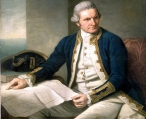 ولد البحار والمستكشف الإنجليزي جيمس كوك James Cook