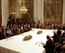 انعقاد مؤتمر مدريد للسلام في الشرق الأوسط