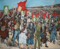 انطلاق المسيرة الخضراء في المغرب إلى الصحراء الغربية