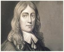 وفاة الشاعر الانجليزى جون ميلتون