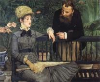 وفاة إدوار مانيه Édouard Manet