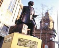ولد البريطانى توماس كوك Thomas Cook