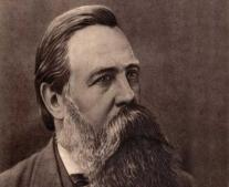 ولد الفيلسوف الألماني فريدريخ انجلز Friedrich Engels