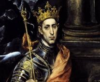 لويس التاسع Louis IX يتولى عرش فرنسا