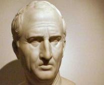 وفاة الفيلسوف الروماني شيشرون Cicerone