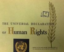 صدور الميثاق العالمي لحقوق الإنسان Universal Declaration of Human Rights