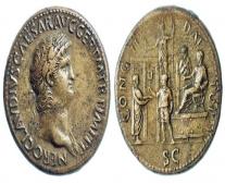 ولد الإمبراطور نيرون خامس وآخر إمبراطور للأمبراطورية الرومانية
