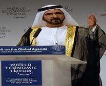 الشيخ محمد بن راشد آل مكتوم يتولى حكم إمارة دبي بعد وفاة أخيه الشيخ مكتوم بن راشد آل مكتوم