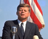 جون كينيدي رئيسا للولايات المتحدة الأمريكية
