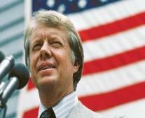 يتولي جيمي كارتر رئاسة الولايات المتحدة الامريكية