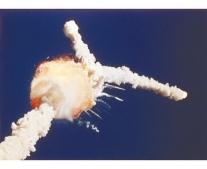 انفجار مكوك الفضاء الأمريكي تشالنجر Challenger
