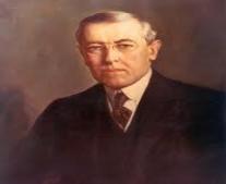 توفي وودرو ويلسون رئيس الولايات المتحدة