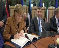 توقيع معاهدة الاتحاد الأوروبي