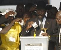 إعلان نتيجة استفتاء جنوب السودان