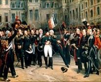 نابليون بونابرت (Napoléon Bonaparte I) يصل إلى منفاه في جزيرة إلبا