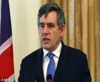 ولد رئيس وزراء المملكة المتحدة جوردون براون Gordon Brown