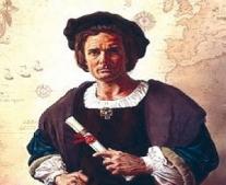 الرحالة كريستوفر كولومبوس يصل إلى أمريكا الشمالية