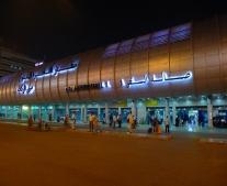 إفتتاح ميناء القاهرة الجوي