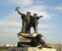 إعدام 21 من العرب المطالبين بالاستقلال بساحة الشهداء