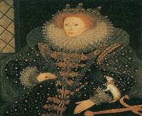 توفيت ملكة إنجلترا الملكة إليزابيث الأولى