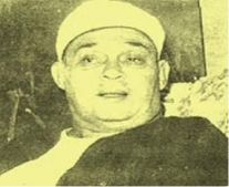 ولد عالم الدين المصري محمد ابو زهرة