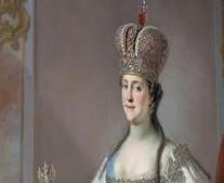 وفاة الإمبراطورة الروسية كاثرين الأولى