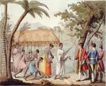 """صامويل واليس """"Samuel Wallis"""" يصل إلى تاهيتي """"Tahiti"""""""