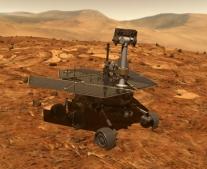 """نزول المسبار الفضائي """"باث فايندر"""" على سطح كوكب المريخ"""