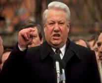 """بوريس يلتسن """"Boris Yeltsin"""" يتولى رئاسة روسيا الاتحادية"""
