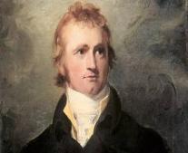 """ألكسندر ماكينزي """"Alexander Mackenzie"""" يصل إلى نهر أطلق عليه نهر ماكينزي"""