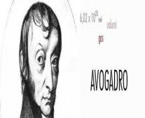 عالم الفيزياء الإيطالي أميديو أفوجادرو يطرح قانون أفوجادرو