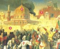 سقوط مدينة القدس على يد الصليبيين