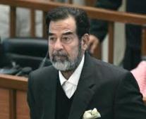 صدام حسين رئيس لجمهورية العراق