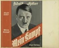 """أدولف هتلر ينشر كتابه، كفاحي """"Mein Kampf"""""""