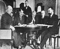 توقيع معاهدة لوزان