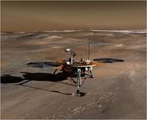 إطلاق سفينة الفضاء فينكس التابعة لناسا