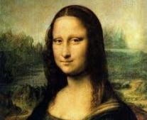 شاب فرنسي يسرق الموناليزا Mona Lisa