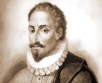 ولد الكاتب الأسبانى ميغيل دي ثيرفانتس Miguel de Cervantes