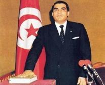 زين العابدين بن علي رئيسًا للحكومة التونسية