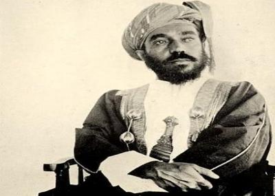 السلطان تيمور بن فيصل بن تركي سلطانًا لعمان ومسقط