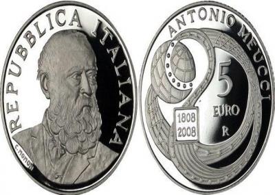 وفاه المخترع الأيطالى أنطونيو ميوتشي Antonio Meucci