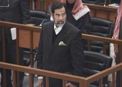 اولي جلسات محاكمة صدام حسين حول حادثة الدجيل