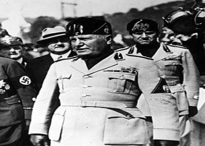 وفاة بينيتو موسوليني رئيس إيطاليا