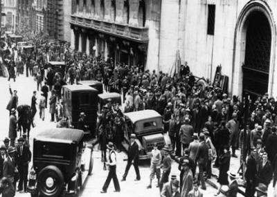 انهيار مؤشر وول ستريت 1929