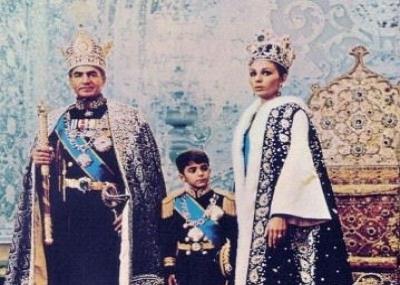 ولد محمد رضا بهلوي شاهً إيران